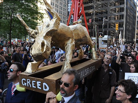 Mass Awakening: American Pictorial Greed-financial-system