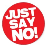 Peaceful Non-Compliance begins with saying NO
