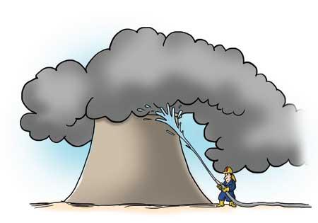 Looming nuclear reactor disasters