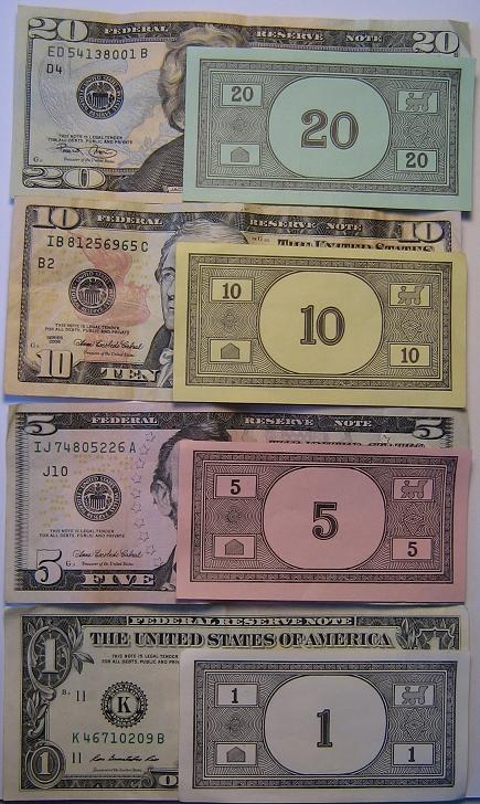 1funny money