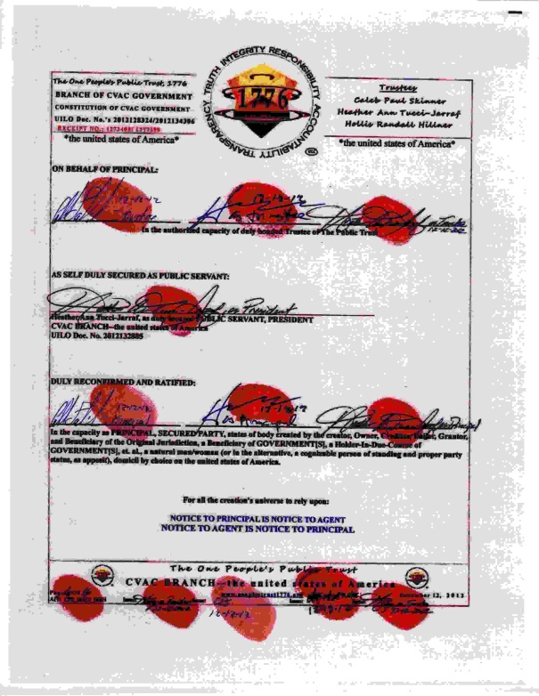 6of6 contract for CVAC Branch USA