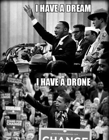 I have a Drone, is far short of the great Dream we Americans share