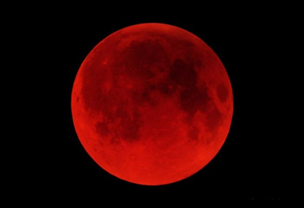 The most recent total lunar eclipse was on December 21, 2010, seen here from California near greatest eclipse. The sun shall be turned into darkness, and the moon into blood, before the great and the terrible day of the LORD come. Here we go.