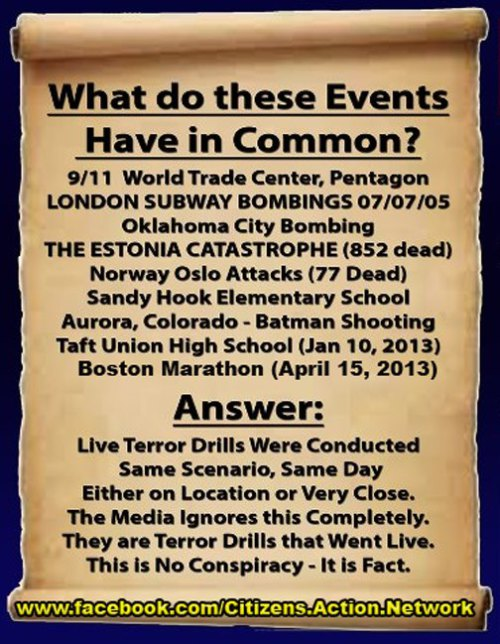 The Economic Collapse and A Rushed Staged Performance Falseflagterrorism_live_terror_drills
