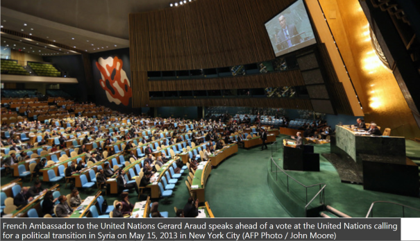 15May2013_UN General Assembly passes resolution condemning Assad's forces in Syria war
