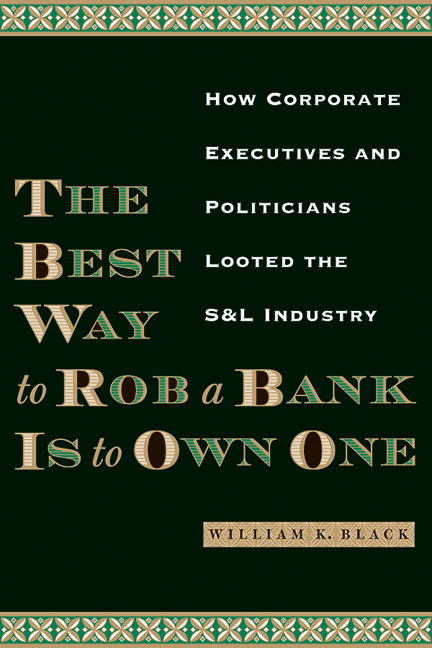 rob a bank is to own one