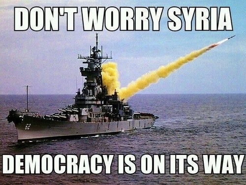 Democracy is on the way Syria