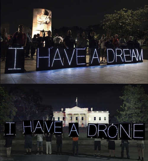 I have a drone_candlelight Vigil