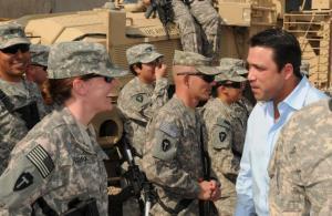 Congressman Grimm-army