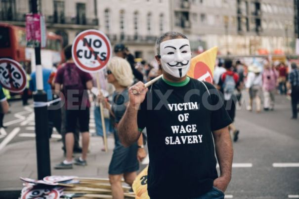21Jun2014_protesters-in-central-london-march-against-austerity