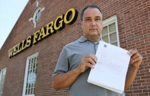 Man sues Wells Fargo