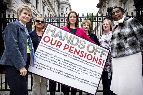 Pension-Protest-woman-Hands-off-our-Pensions