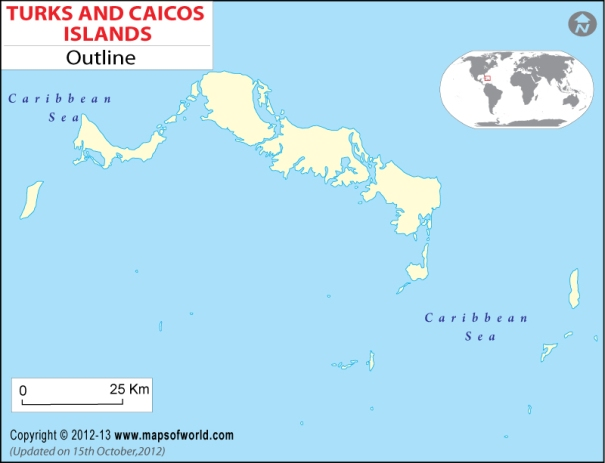 turks-and-caicos-Island-outline-map