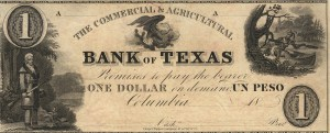Bank of Texas Note