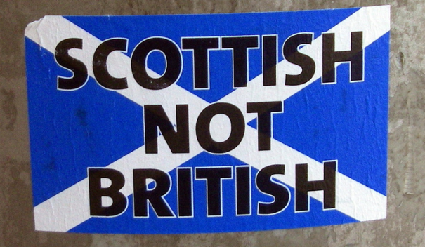 scottish not british