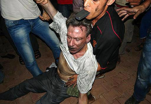 US Diplomet Chris Stevens Dragged Through The Streets