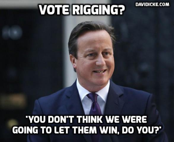 Westminster Rigged Scottish Independence Vote