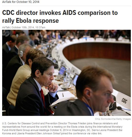 Bankers Setting Ebola Virus Agenda