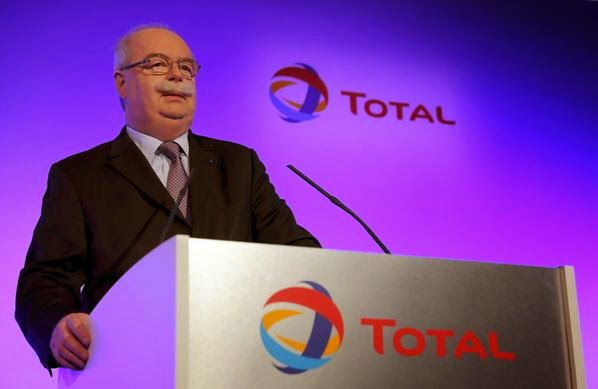 CEO of Total, Christophe de Margerie