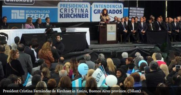 Pres Christina admitted that her political project must reinvent itself permanently