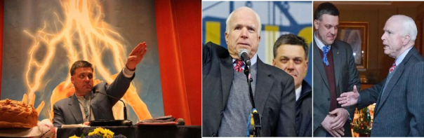 Senator McCain with Neonazi in Ukraine