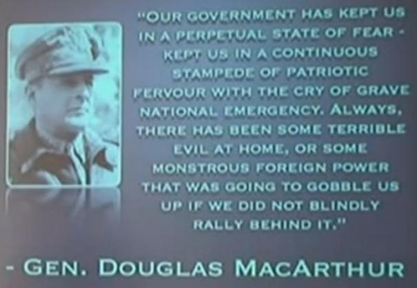 Gen_Douglas MacArthur_National Emergency