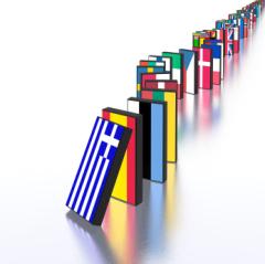Eurozone crisis domino effect