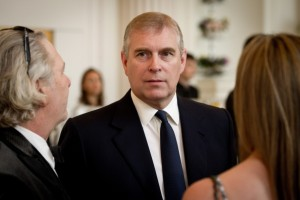 Prince Andrew, Duke of York, attends the English National Ballet's summer party at the Orangery in 2011.