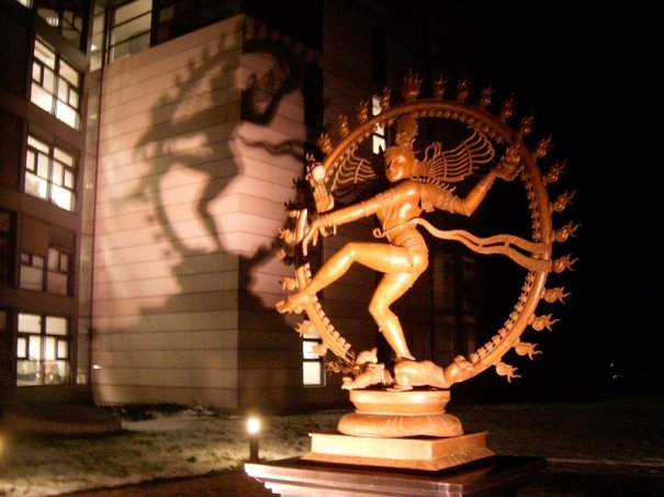CERN LHC Monument to SHIVA The DESTROYER