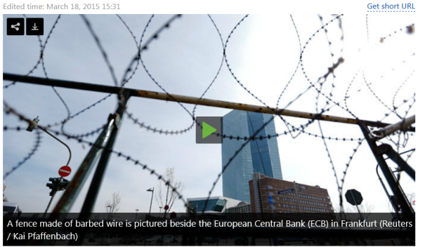 New €1.3bn ECB HQ inauguration marred by anti-austerity protests