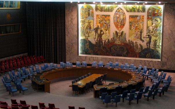 """""""UN security council 2005"""" by Bernd Untiedt, Germany - Own work. Licensed under CC BY-SA 3.0 via Wikimedia Commons - https://commons.wikimedia.org/wiki/File:UN_security_council_2005.jpg#mediaviewer/File:UN_security_council_2005.jpg"""