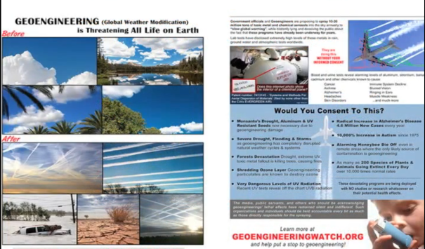 Geoengineering and BIOSPHERE COLLAPSE