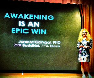 Jane McGonigal AWAKENING Is An Epic Win