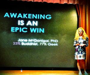 Jane McGonigal AWAKENING Is An Epic Win