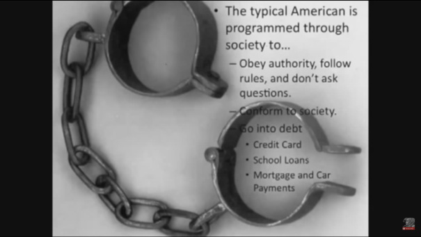 Citizenship Debt Slavery in chain of obedience