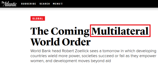 New World Multilateral Order