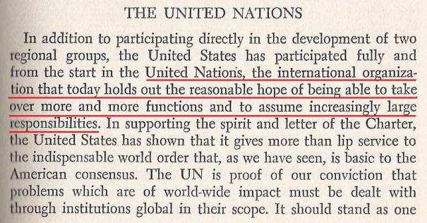 """The U.N. """"stands, finally, as a symbol of the world order that will be built."""""""