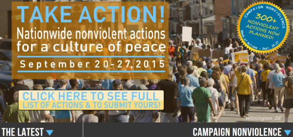 TAKE ACTION FOR A CULTURE OF PEACE SEPTEMBER 20-27, 2015