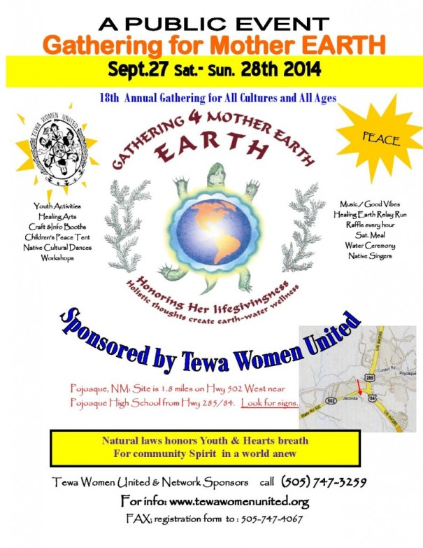 TEWA Gathering For Mother Earth