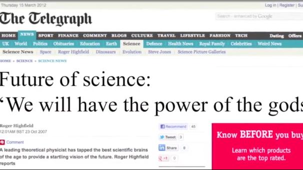 God-like Scientism ...