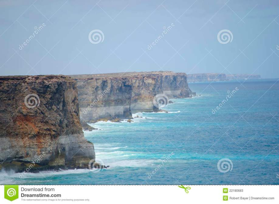 cliff coastline great southern ocean
