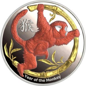 Lunar calendar 2016 is Red Fire Monkey Year
