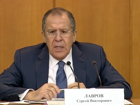 Press Conference by Sergey Lavrov
