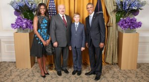 President Obama with president Alexander Lukashenko