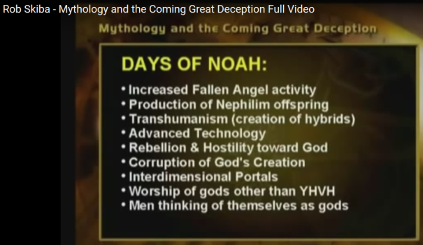 Come Again Days Of Noah