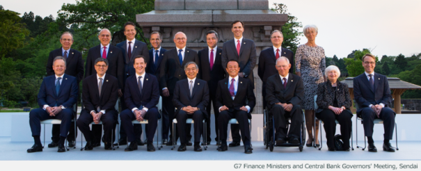 Finance Ministers & Central Bank Governors' Meeting Sendai May 20, 2016