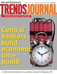 Central bankers build economic time-bomb