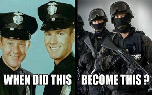 Dangerous Police State - institutional crises