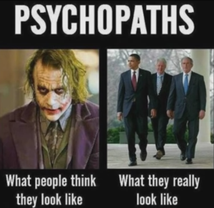 Successful psychopaths hide among us as professionals in expensive suits.