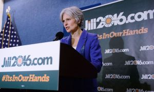 2016 Jill Stein US Presidential candidate